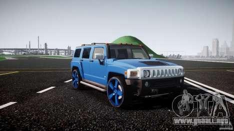 Hummer H3 para GTA 4 vista interior