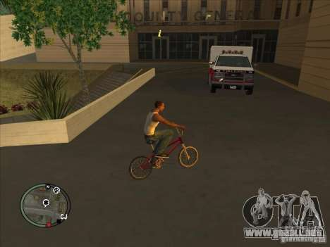Addon para iconos para GTA San Andreas segunda pantalla