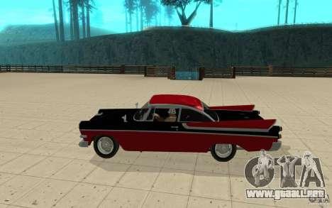 Dodge Lancer 1957 para GTA San Andreas left