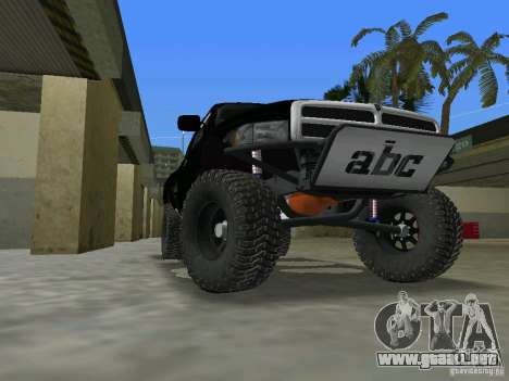 Dodge Ram Prerunner para GTA Vice City left
