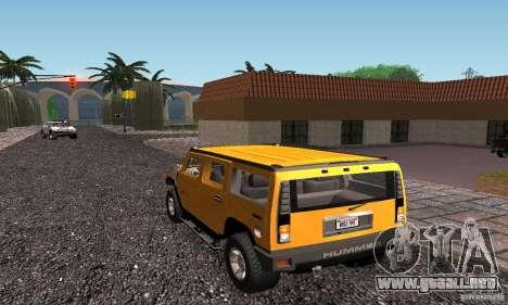 New Groove para GTA San Andreas sexta pantalla