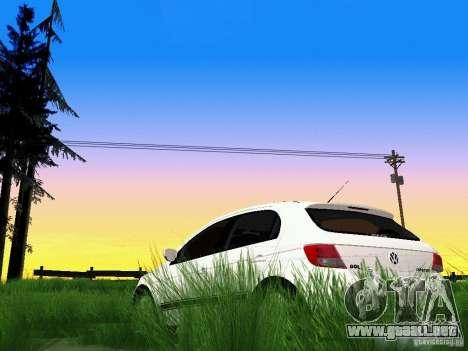 Volkswagen Gol Rallye 2012 para vista lateral GTA San Andreas