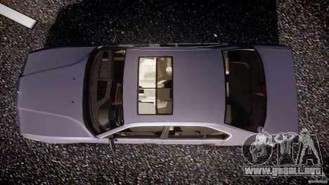 BMW 5 Series E34 540i 1994 v3.0 para GTA 4 visión correcta