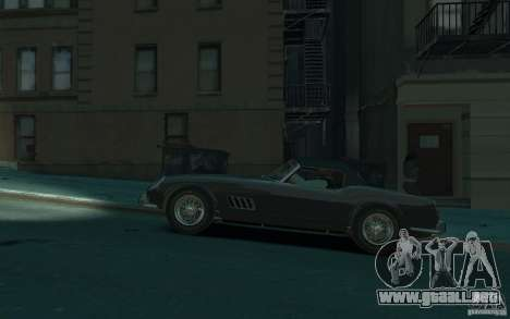 Ferrari 250 GT California para GTA 4 left