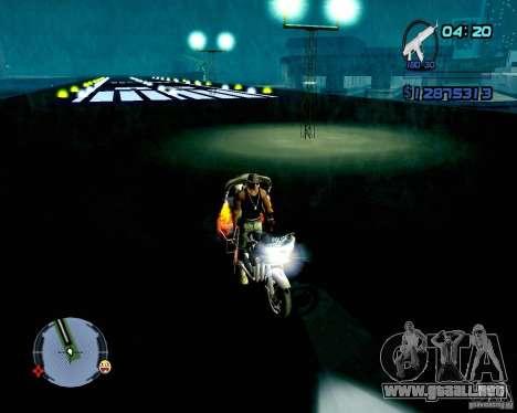 Not ENB para GTA San Andreas sexta pantalla