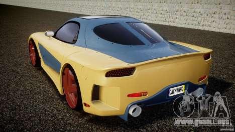 Mazda RX-7 Veilside v0.8 para GTA 4 Vista posterior izquierda