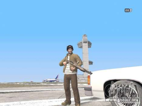 HQ Weapons pack V2.0 para GTA San Andreas novena de pantalla