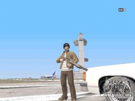 HQ Weapons pack V2.0 para GTA San Andreas novena de pantalla