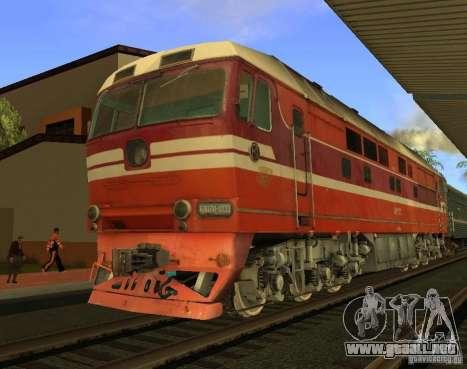 FERROCARRIL mod para GTA San Andreas séptima pantalla