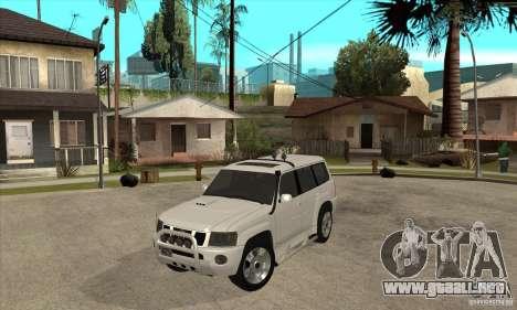 Nissan Patrol 2005 para GTA San Andreas