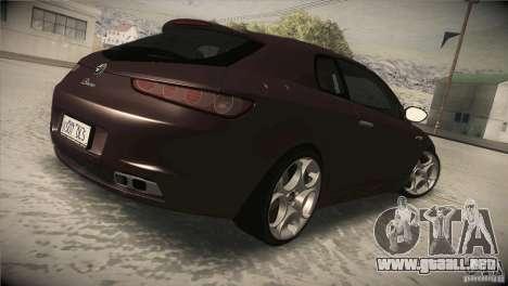 Alfa Romeo Brera Ti para la visión correcta GTA San Andreas