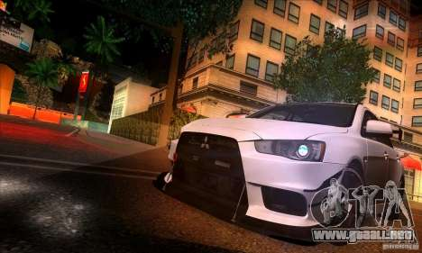 SA_gline 4.0 para GTA San Andreas octavo de pantalla
