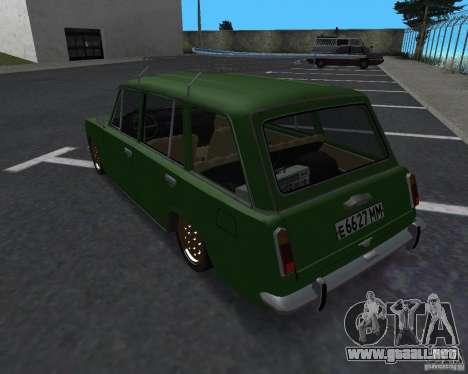 VAZ 2102 Florida para GTA San Andreas left