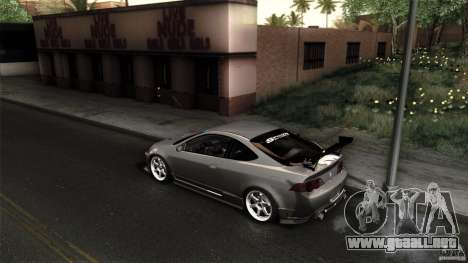 Acura RSX Spoon Sports para visión interna GTA San Andreas