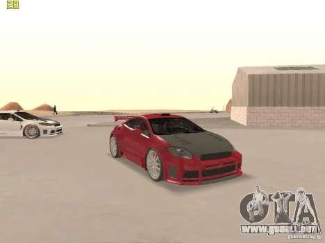 Mitsubishi Eclipse GT NFS-MW para vista inferior GTA San Andreas