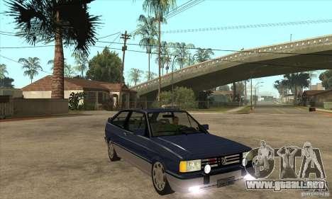 VW Gol GTI 1989 para GTA San Andreas vista hacia atrás