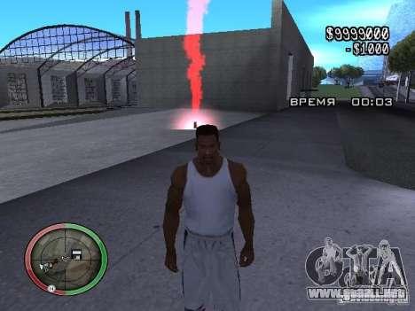 Dinamita MOD para GTA San Andreas tercera pantalla