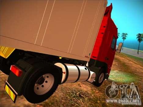 Volvo FH12 para GTA San Andreas left