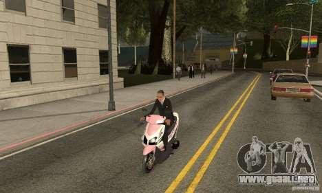 Honda Vario-Velg Racing para la visión correcta GTA San Andreas