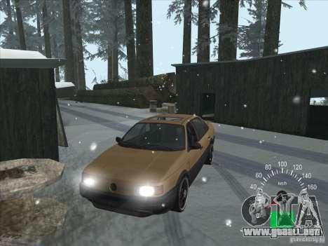 Volkswagen Passat B3 para visión interna GTA San Andreas