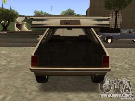 Ford Fiesta 1981 para la visión correcta GTA San Andreas