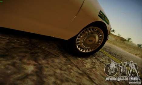 Ford Crown Victoria Missouri Police para la visión correcta GTA San Andreas