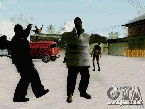 Harlem Shake para GTA San Andreas sucesivamente de pantalla