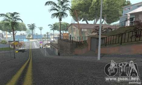 Grove Street 2012 V1.0 para GTA San Andreas octavo de pantalla