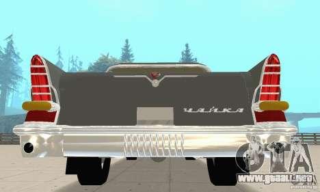 GAZ 13 Chaika v2.0 para la visión correcta GTA San Andreas
