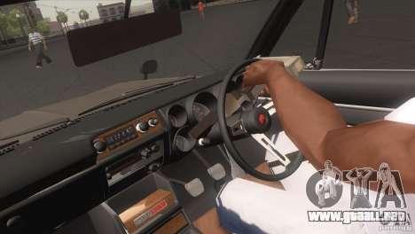 Nissan Skyline 2000 GT-R Coupe para la visión correcta GTA San Andreas