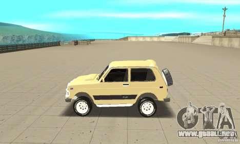 VAZ 21213 4 x 4 para GTA San Andreas left