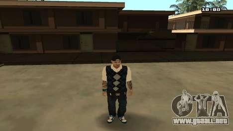 Skin Pack The Rifa para GTA San Andreas sexta pantalla