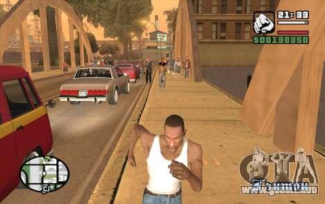Resident Evil Dead Aim para GTA San Andreas tercera pantalla