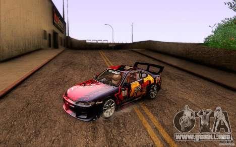 Nissan Silvia S15 Drift Style para GTA San Andreas interior