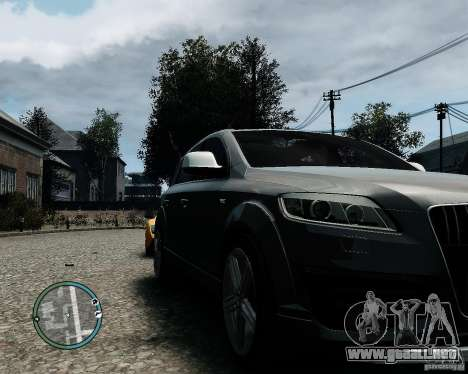 Audi Q7 V12 TDI Quattro Updated para GTA 4 left