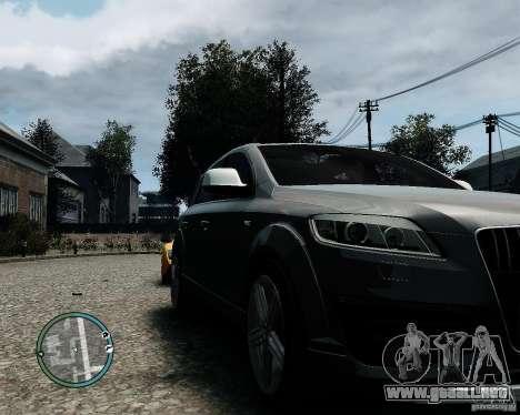 Audi Q7 V12 TDI Quattro Updated para GTA 4 left