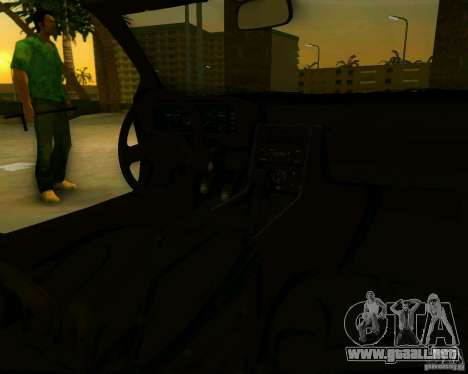 DeLorean DMC-12 V8 para GTA Vice City vista lateral izquierdo