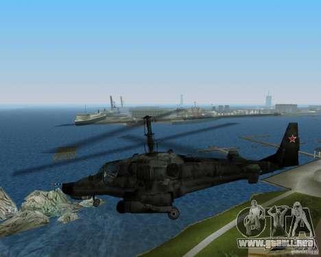 Ka-50 para GTA Vice City visión correcta