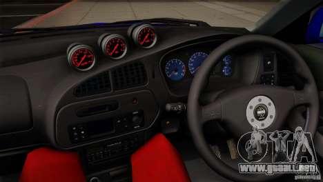 Mitsubishi Lancer Evolution lX para vista lateral GTA San Andreas