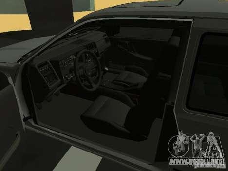 Ford Sierra RS500 Cosworth 1987 para GTA San Andreas vista posterior izquierda