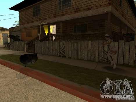 Girlz Medic in Grove para GTA San Andreas tercera pantalla