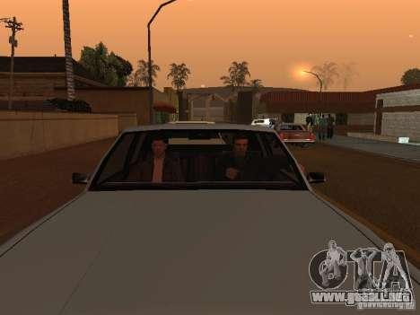 Los Santos Protagonists para GTA San Andreas segunda pantalla