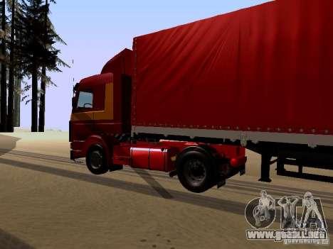 Scania 143M para la visión correcta GTA San Andreas