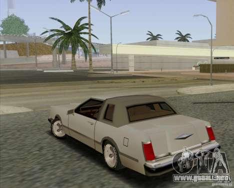 Virgo Continental para GTA San Andreas left