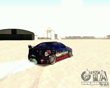 Skoda Octavia III Tuning para la visión correcta GTA San Andreas