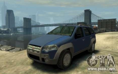 Fiat Palio Adventure Locker para GTA 4