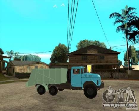 Camión ZIL 131 para la visión correcta GTA San Andreas