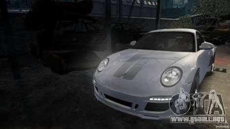 Porsche 911 Sport Classic v2.0 para GTA 4 Vista posterior izquierda