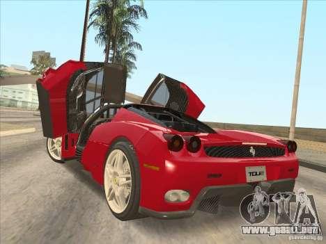 Ferrari Enzo 2010 para GTA San Andreas left
