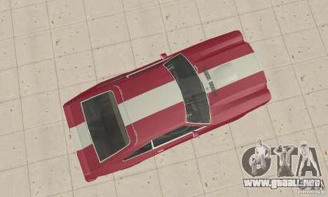 Ford Mustang II 1976 Cobra v. 1.01 para la visión correcta GTA San Andreas